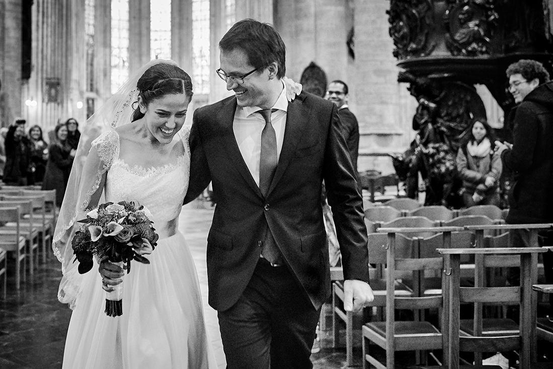 mariés heureux